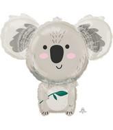 """28"""" SuperShape Koala Bear Foil Balloon"""
