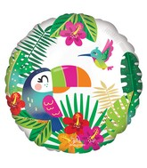 "18"" Tropical Paradise Foil Balloon"