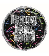 "18"" Countdown To New Years Balloon"