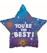 """18"""" You're the Best Star Foil Balloon"""