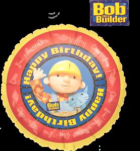 "18"" Happy Birthday Bob the Builder Foil Balloon"