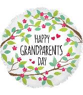 "17"" Grandparents Day Foil Balloon"