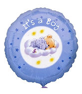 Roly Bear Mylar Balloons