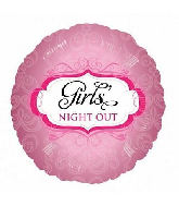 "18"" Girls Night Out Foil Balloon"