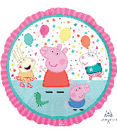 "18"" Peppa Pig Foil Balloon"