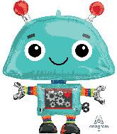 "29"" SuperShape Robot Foil Balloon"