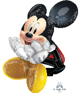 "29"" AirWalkers Mickey Mouse Foil Balloon"