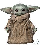 """25"""" Yoda Star Wars Mandalorian The Child Foil Balloon"""