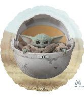 "18"" Star Wars Mandalorian The Child Foil Balloon"