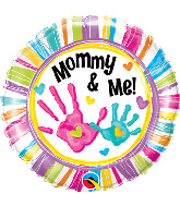 """18"""" Mommy and Me Handprints Balloon"""