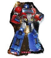 Jumbo Optimus Prime Transformers Foil Balloon