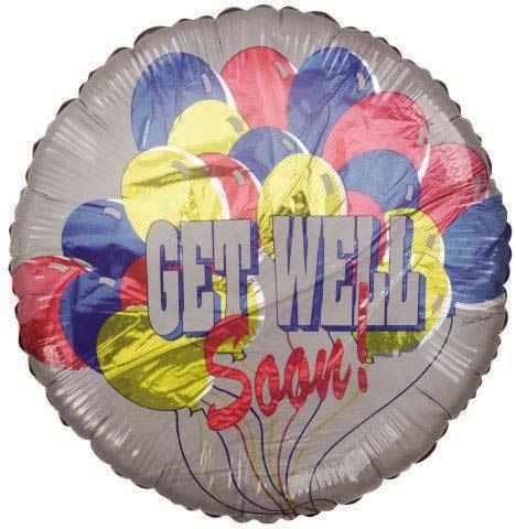 "18"" Get Well Soon Balloons Foil Balloon"