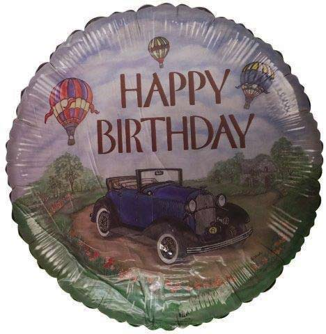 "18"" Happy Birthday Car Foil Balloon"