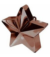 Balloon Weight Star Chocolate 150 g / 5.3 oz
