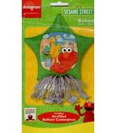 "14"" Sesame Street Birthday Centerpiece Foil Balloon"