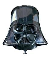 """19"""" Mid-Size Darth Vader Helmet Foil Balloon"""