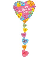 Multi-Balloon Candy Hearts