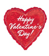 """9"""" Aifill Only Happy Valentine's Day Floral"""