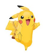 "35"" Jumbo SuperShape ""Pikachu"" Foil Balloon"