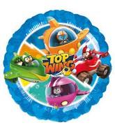 "18"" Standard Top Wing Foil Balloon Circle"