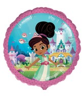 "18"" Standard Nella the Princess Knight Foil Balloon"