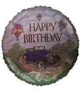 "18"" Happy Birthday Car Foil Balloon"