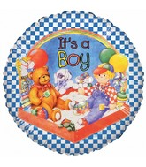 "18"" It's a Boy Party Foil Balloon"