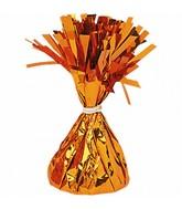 Balloon Weight Foil Orange 170g/6 oz