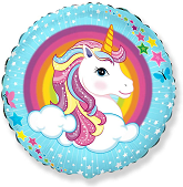 "18"" Cute Unicorn Balloon"