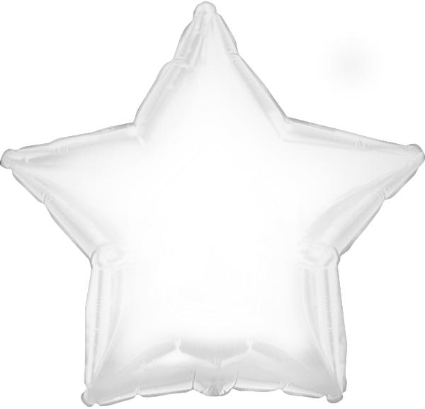 """18"""" CTI Brand White Star"""