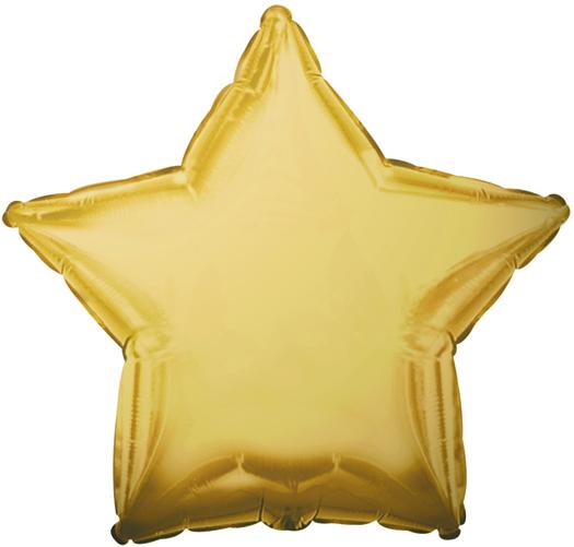 "18"" CTI Brand Antique Gold Star"