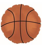 "18"" Basketball Orange CTI Brand Balloon"