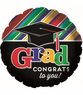 """17"""" Grad Cap Balloon"""