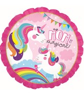 "17"" Unicorn Mom Foil Balloon"