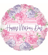 """17"""" Happy Mother's Day Pink & Lavender Foil Balloons"""