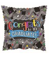 """17"""" Congrats To The Grad Balloon"""