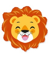 "23"" Lion Head Foil Balloon"