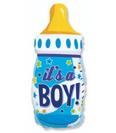 Bottle Boy Foil Balloon