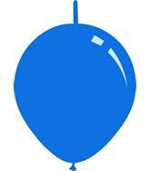 "11"" Standard Medium Blue Decomex Linking Latex Balloons (100 Per Bag)"