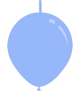 "11"" Deco Baby Blue Decomex Linking Latex Balloons (100 Per Bag)"