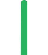 260D Standard Green Decomex Modelling Latex Balloons (100 Per Bag)