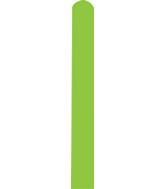 260D Pastel Lime Green Decomex Modelling Latex Balloons (100 Per Bag)