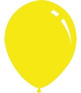 "5"" Metallic Yellow Decomex Latex Balloons (100 Per Bag)"