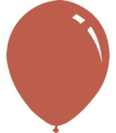 """5"""" Metallic Copper Decomex Latex Balloons (100 Per Bag)"""