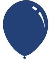 """5"""" Metallic Navy Blue Decomex Latex Balloons (100 Per Bag)"""
