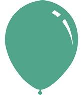 """5"""" Metallic Aqua Decomex Latex Balloons (100 Per Bag)"""