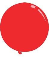 "36"" Standard Red Decomex Latex Balloons (5 Per Bag)"