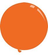 "36"" Standard Orange Decomex Latex Balloons (5 Per Bag)"