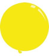 "36"" Standard Yellow Decomex Latex Balloons (5 Per Bag)"
