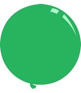 """36"""" Standard Green Decomex Latex Balloons (5 Per Bag)"""